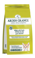 Arden Grange (Арден Гренж) Kitten Fresh Chicken & Rice