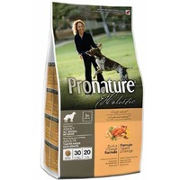 Pronature Holistic (Пронатюр Холистик) Dog Duck & Orange — с уткой и апельсинами без злаков сухой корм для собак.