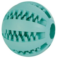 Trixie 3259  3289 (Трикси) Denta Fun Mintfresh Baseball Natural Rubber